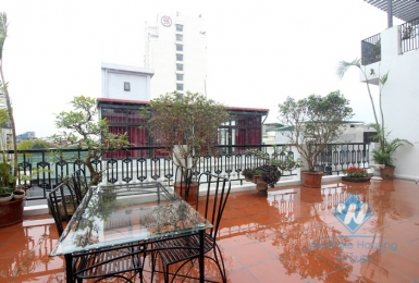 A spacious 2 bedroom apartment with huge balcony in Tu hoa, Tay ho