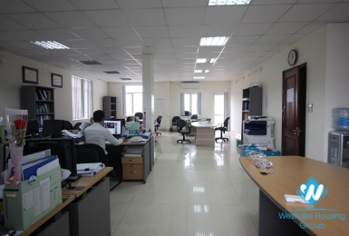 Nice office for rent in Xuan dieu, Tay ho, Hanoi