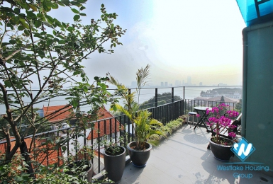 Brand new studio with big balcony and lake view in Tay ho, Ha noi