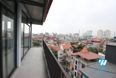 Top floor for office space for rent in Au co, Tay ho, Hanoi