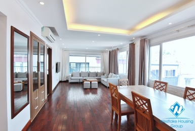 Super bright and spacious 3-bedroom with a big balcony apartment for rent on To Ngoc Van