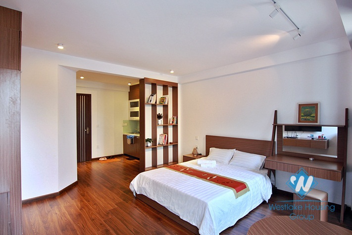 A new and modern studio for rent in Tu Hoa, Tay Ho, Ha Noi