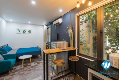 A new and lovely studio for rent in Tran phu, Ba dinh, Hanoi
