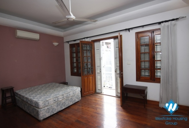 Spacious 4-bedroom house for rent in Doi Can, Ba Dinh