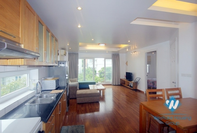 A spacious and brightly 2 bedroom apartment for rent in Xuan dieu, Tay ho, Hanoi