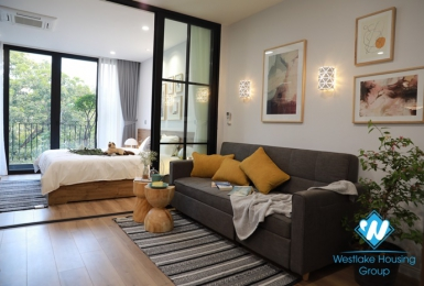 A beautiful 1 bedroom apartment for rent in Ngoc ha, Ba dinh