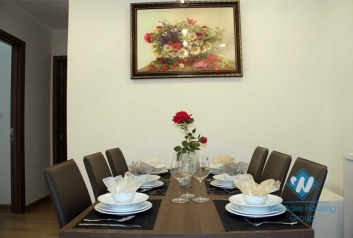 A warmly beautiful and good-priced apartment with 3 bedroom in Vinhome Gardenia for rent