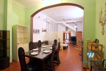 A charming duplex 1 bedroom apartment for rent in Tay ho, Ha noi