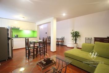 Rental apartment with one bedroom in Tay Ho st, Ha Noi
