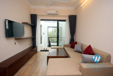 A newly serviced apartment for rent in Hoang Hoa Tham, Ba dinh