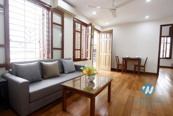 A new and spacious 1 bedroom apartment for rent in Doi can, Ba dinh, Ha noi