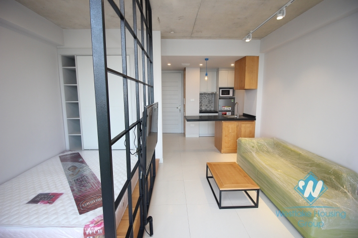 Brand new and bright studio for rent in Ho Ba Mau area