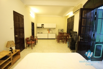 Nice fully furnished studio for rent in Dong Da district, Hanoi