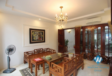 Gorgerous 06 bedrooms house with fully furnished  for lease in Tay Ho area.