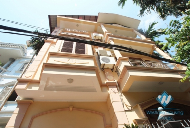 Yellow house for rent in To ngoc van, Tay Ho, Ha Noi