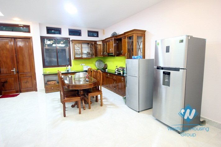 Spacious brand new house with 2 bedrooms for rent on Dang Thai Mai, Tay Ho, Hanoi