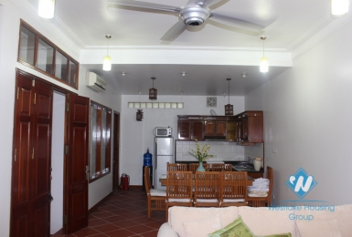Nice house for rent in Au Co street, Tay Ho, Hanoi