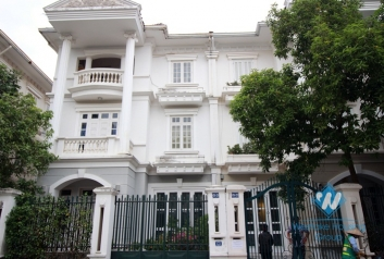 Beautiful, newly renovated Ciputra villa with nice yard for rent