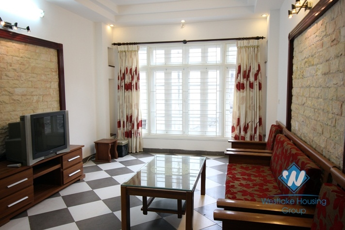 Cheap house with three bedrooms for rent in Au Co, Tay Ho, Ha Noi
