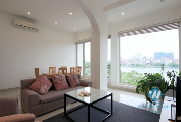 A 2 bedroom apartment with lakeview for rent in Tay ho, Ha noi
