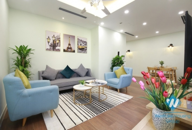 A attractive two-bedroom apartment in the high-rise complex Imperia Garden, Thanh Xuan district