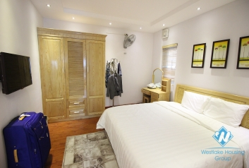 Modern and bright apartment for rent on Lang Ha, Ba Dinh, Hanoi