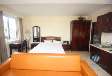 Lovely and good studio for rent in Hai Ba Trung, Ha Noi