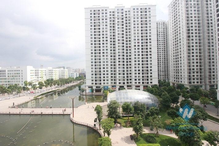 High floor 2 bedrooms, nice view for rent in Times City