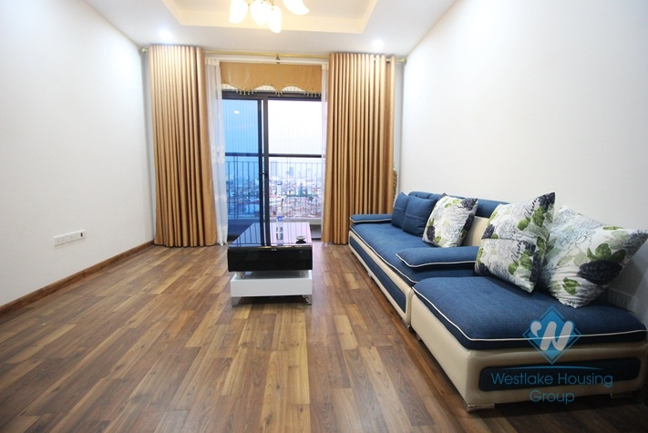 A newly apartment for rent in Goldmark city, Cau Giay