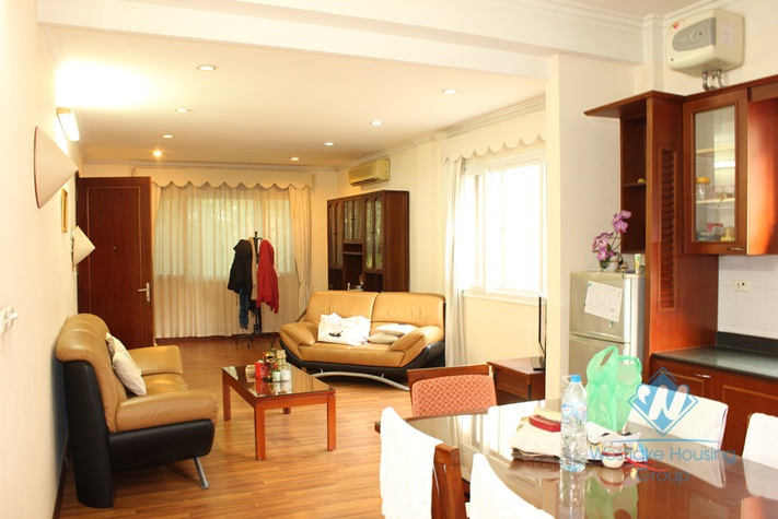 Nice and large apartment for rent in Hoan Kiem District, Ha Noi