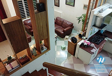 An affordable three-bedroom house near Hoang Hoa Tham Ba Dinh Hanoi