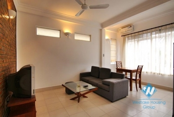 Nice one bedroom apartment for rent on Tay Ho district, Hanoi