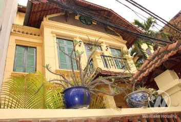 Nice house with 3 bedrooms for lease in Au Co St, Tay Ho, Ha Noi