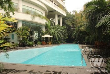 High quality lake view apartment for lease in Westlake area, Hanoi