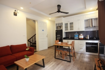 Brand new service apartment for rent in To Ngoc Van district. Room 202