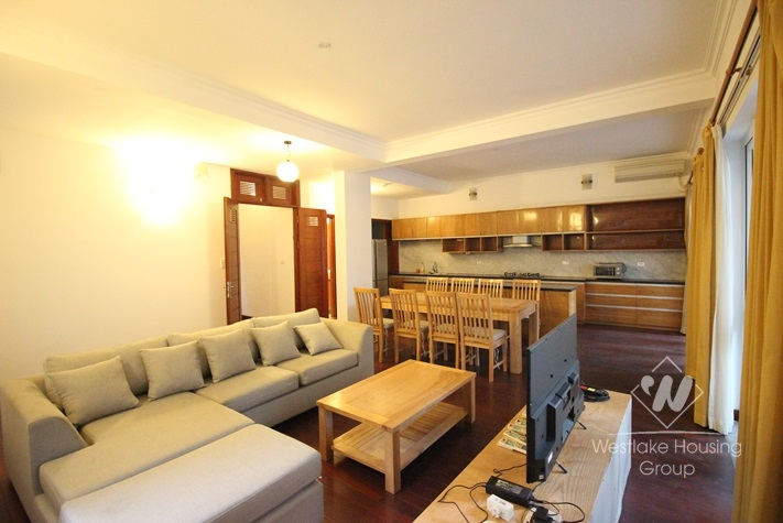 To Ngoc Van modern house with nice terrace and small swimming pool for rent