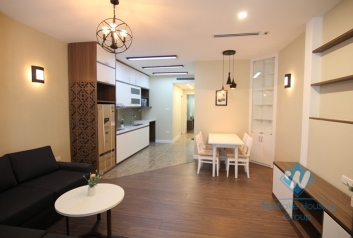 Quite new two bedrooms apartment for rent in Dang Thai Mai, Tay Ho, Ha Noi