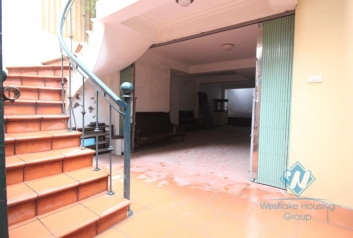 Unfurnished house for rent in To Ngoc Van street, Tay Ho, Hanoi