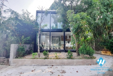 Modern style one bedroom river view house for rent in Ngoc Thuy, Long Bien district