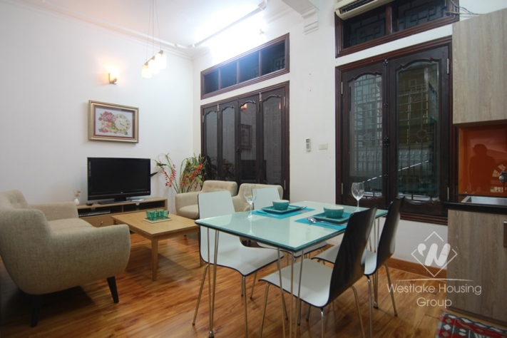 One bedroom apartment for rent near Bach Khoa university, Hai Ba Trung district, Ha Noi