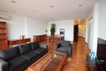Morden and beautiful serviced apartment for rent in Truc Bach area, Ba Dinh, Ha Noi