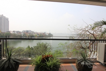 Nice and new apartment in Xuan Dieu st for rent, Tay Ho district