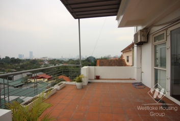 Brand new with nice furniture apartment for rent in Dang Thai Mai st.