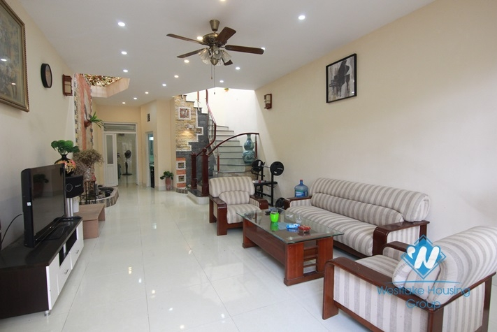 Beautiful house with 2 floor for rent in Tay Ho district
