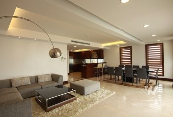 Nice apartment for rent in Xuan Dieu st, Tay Ho district, Ha Noi City