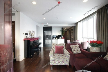 Modern apartment for rent in Lancaster, Ba Dinh, Hanoi