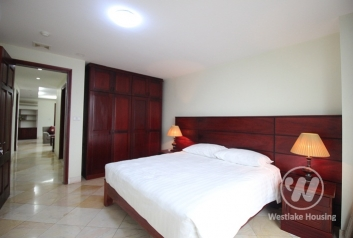 Big size two bedrooms apartment for rent near Vincome center, Ha Noi