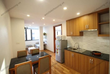 Nicely high floor apartment for rent in Ba Dinh, Hanoi