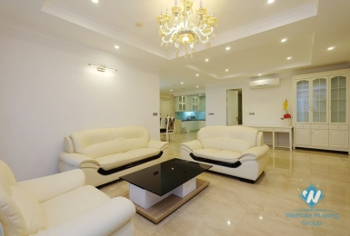 Elegant 154sqm 3 bedroom apartment for rent in Ciputra, Hanoi