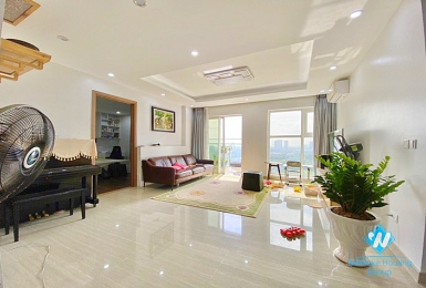 A charming apartment with 3 bedrooms for rent in Ciputra Complex